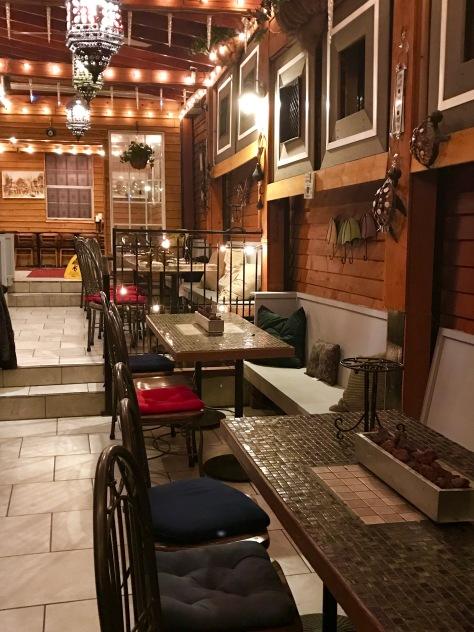 Inside Nicholas Restaurant Broadway