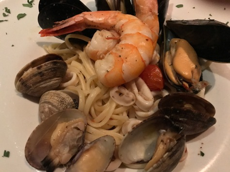 Spaghetti ai frutti di mare at Gallo Nero