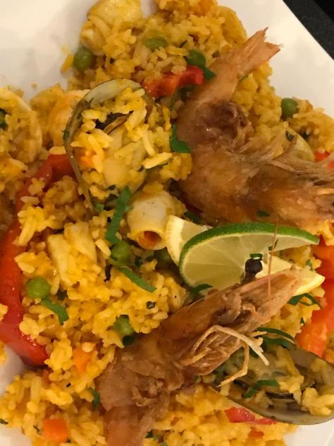 Peruvian Paella in Lima Restaurant in Beaverton, OR