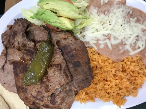 Carne Asada in Super Mercado, Hillsboro, OR