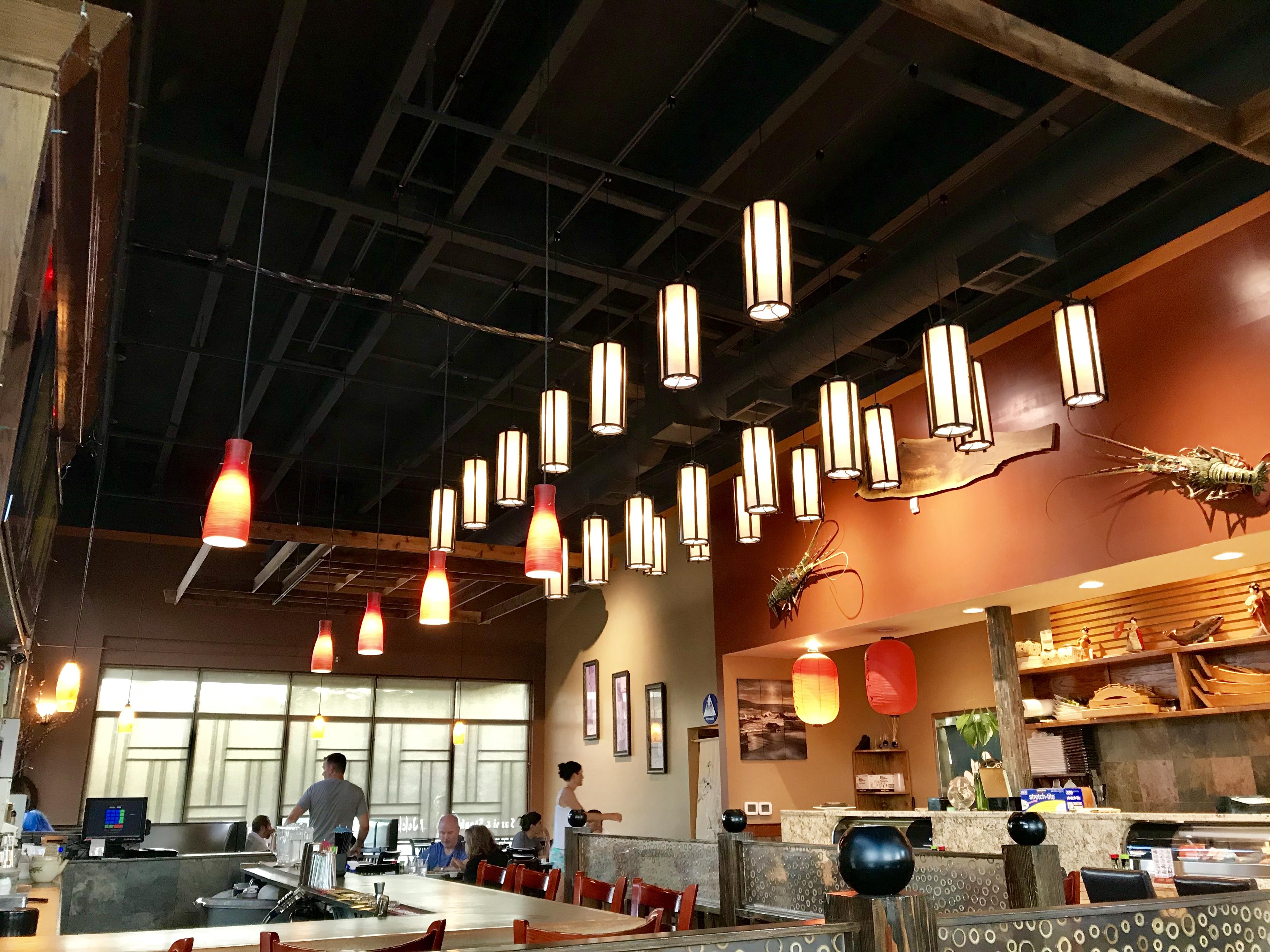 Inside Nikki Sushi & Steak in Tigard, OR