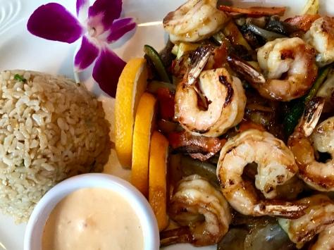 Shrimp Hibachi in Nikki Sushi & Steak in Tigard, OR