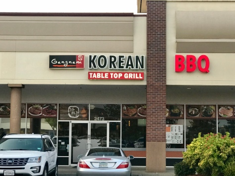 From of Gangname Korean BBQ in Hillsboro, OR