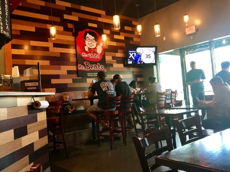 Inside Mr. Bento in Hillsboro
