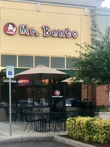 Outside Mr. Bento in Hillsboro