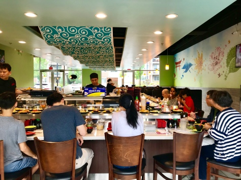 Inside Sushi Mioga in Portland