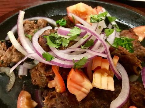 Beef kababs in Zaiqa, Hillsboro, OR