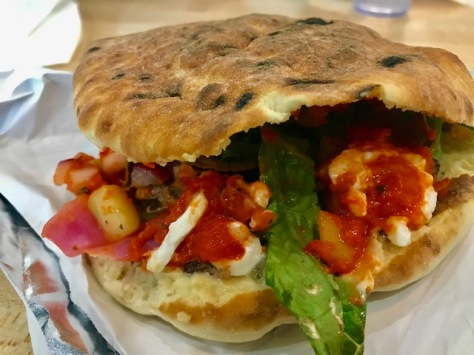Lamb and beef shawarma at Baba's