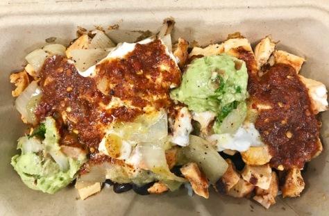Burrito Bowl in Aprisa inside Portland Food Hall
