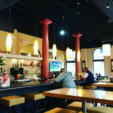Inside Dragonwell Bistro in PDX Downtown