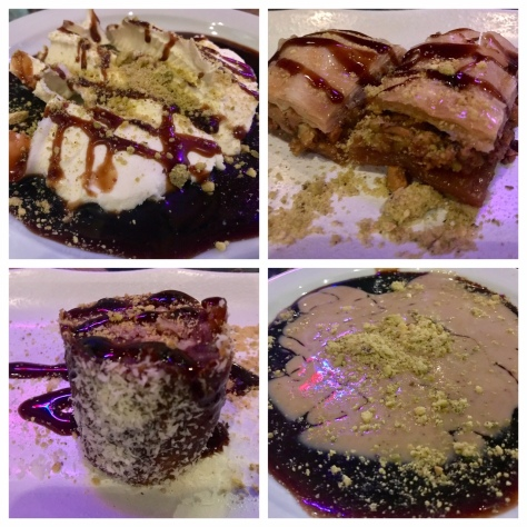 Desserts in Dar Salam Lazurdi in Portland Downtown